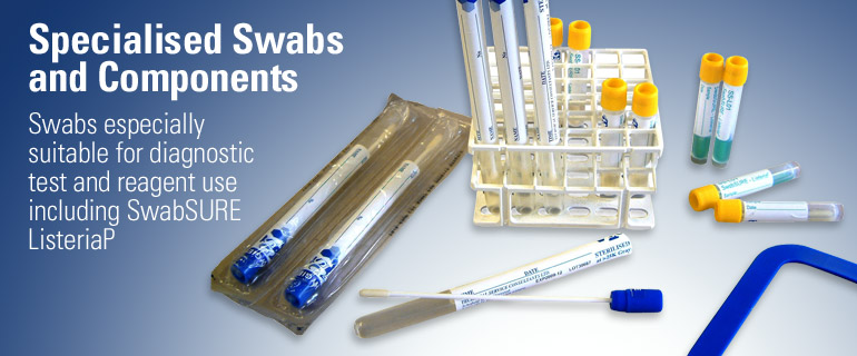 Specialised Swabs and Components