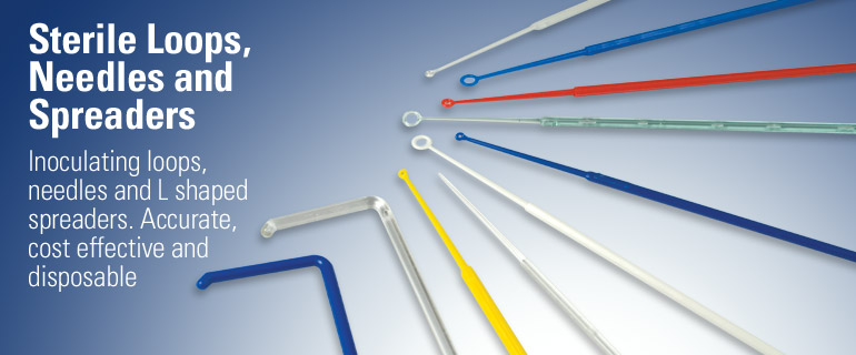 Sterile Loops, Spreaders, Needles & Pipettes
